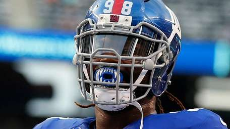Damon Harrison #98 of the New York Giants