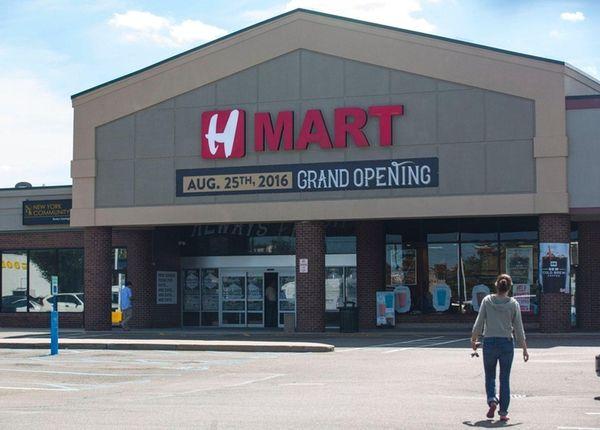 Hmart, an Asian-American supermarket chain, will open a