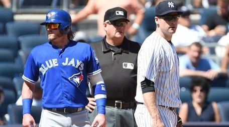 Toronto Blue Jays designated hitter Josh Donaldson is