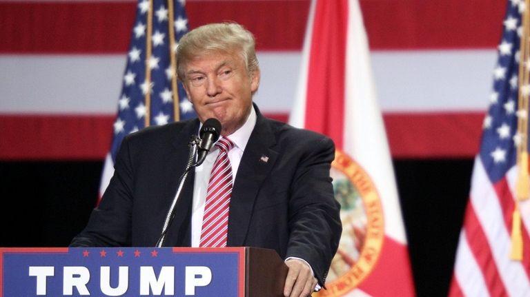 The DNC wants Republican nominee Donald Trump to