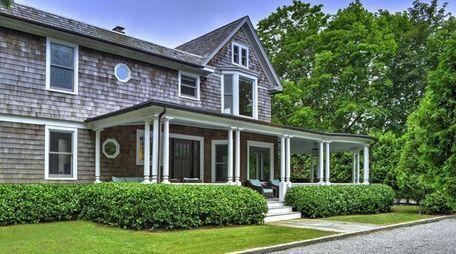 This Bridgehampton home, on the market in August
