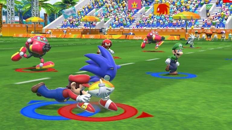 Mario & Sonic at the Rio 2016 Olympic