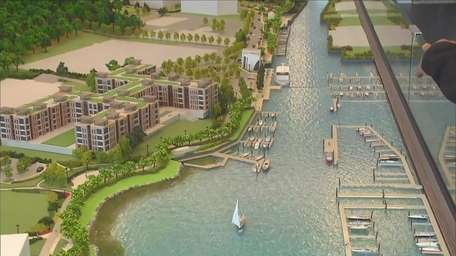 Architect Rick Parisi says Garvies Point is a