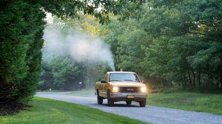 Suffolk County Public Works, Vector Control ground sprays