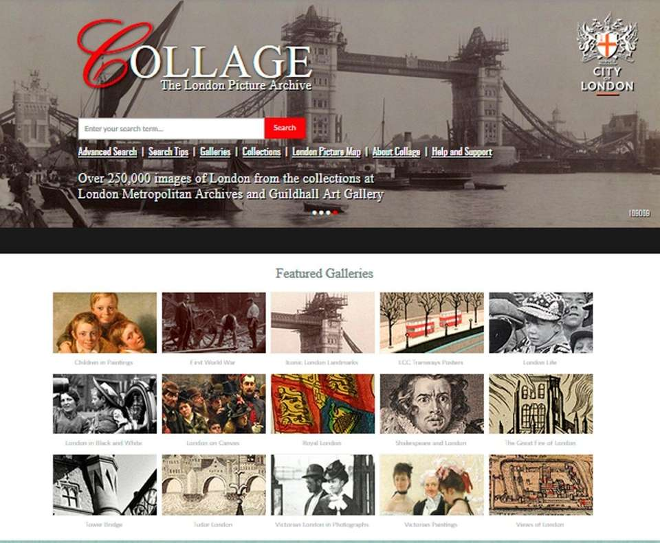 NAME Collage: The London Picture Archive (collage.cityoflondon.gov.uk) WHAT