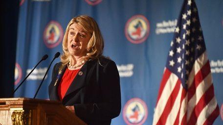 Republican Wendy Long targeted Democratic Sen. Chuck Schumer