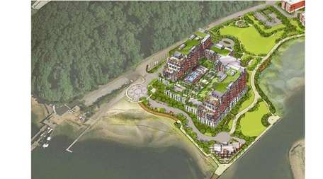 Building A, a condominium building with two 11-story