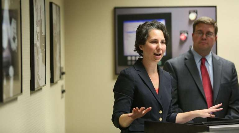 Sarah Lansdale, planning director for the Suffolk County