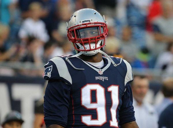 Jamie Collins #91 of the New England Patriots