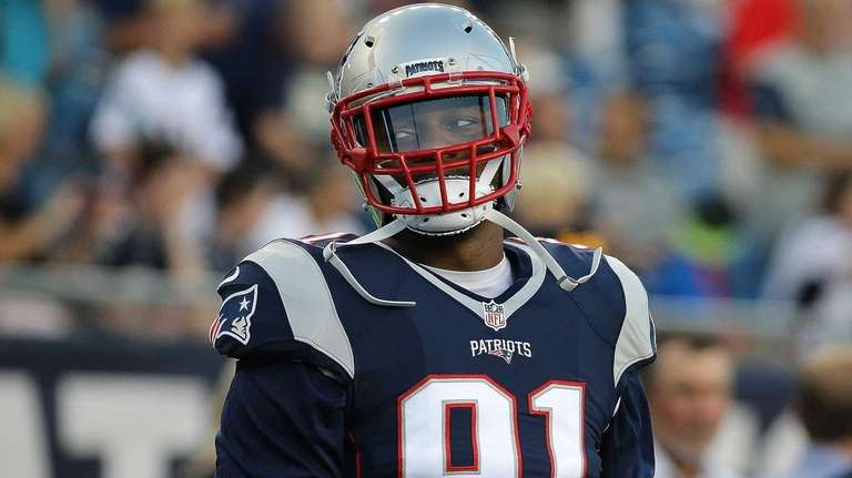 Jamie Collins #91 of the New England Patriots