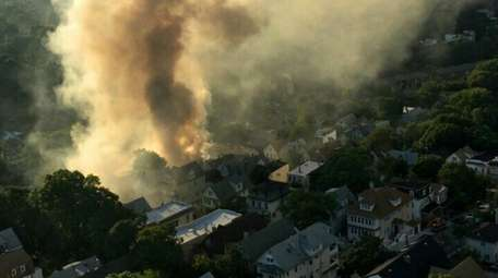 A six-alarm fire broke out in St. George,
