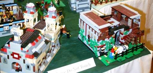 The entry deadline for Stony Brook Village's LEGO