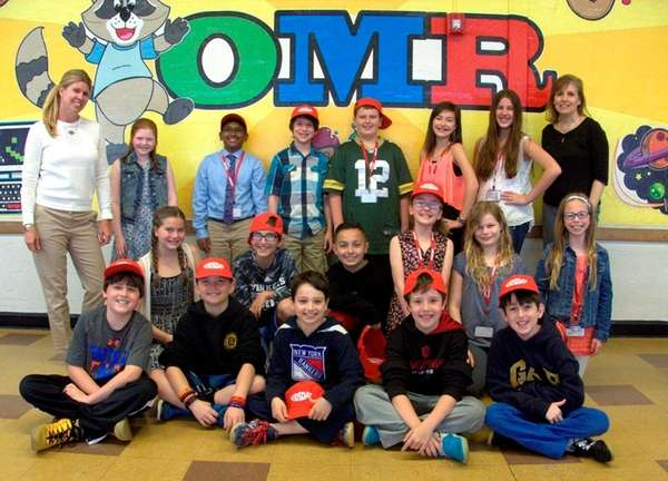 The Old Mill Road School's News Tech Club.