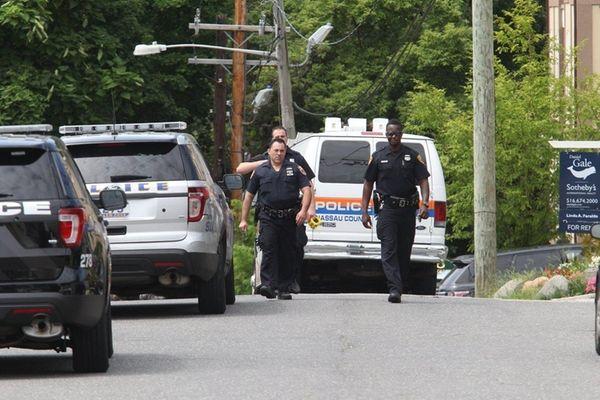 Glen Cove and Nassau County police investigate a