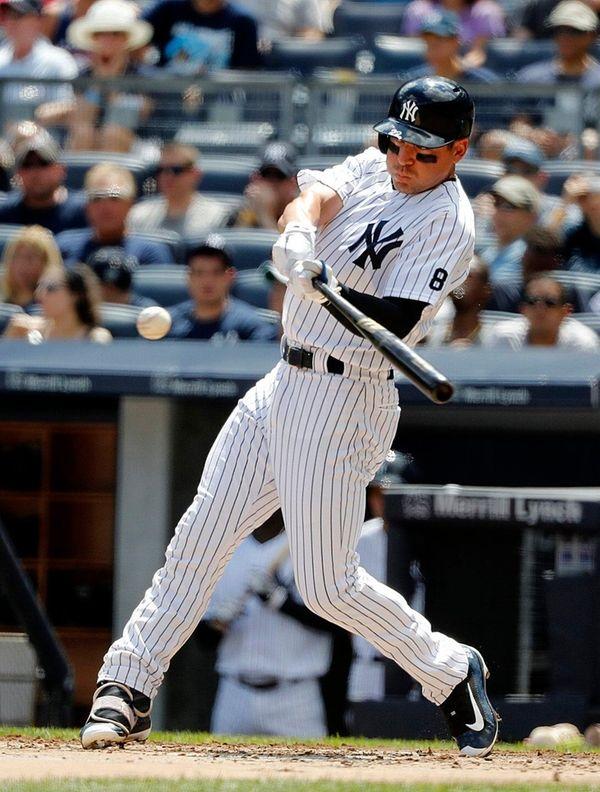 New York Yankees center fielder Jacoby Ellsbury (22)