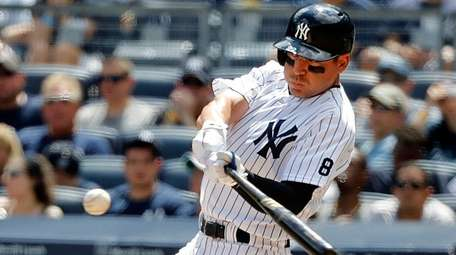 New York Yankees center fielder Jacoby Ellsbury (22)