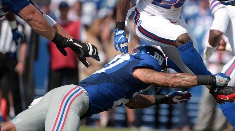 Buffalo Bills running back LeSean McCoy (25) is