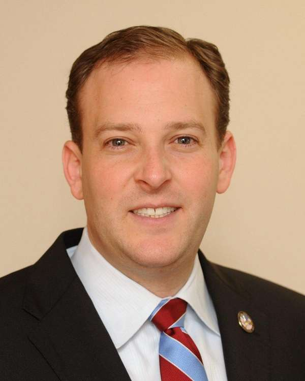 Lee Zeldin poses for a portrait at his