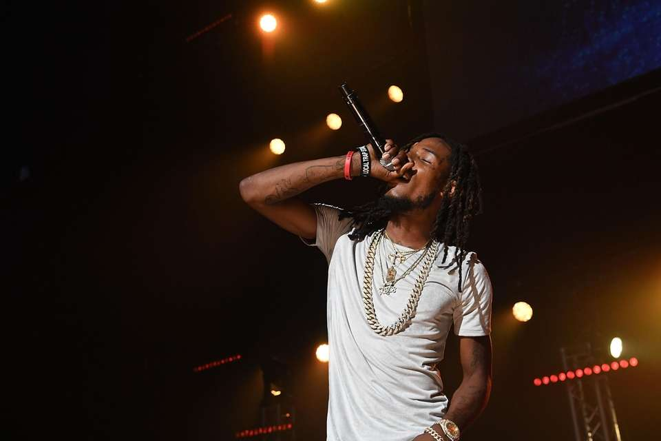 Now: Fetty Wap dropped two albums in 2015,