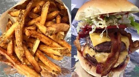 Burgers and fries are on the menu at