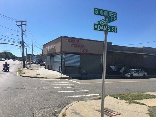 Nassau police said Jude Saint-Clair, 32, of Uniondale,