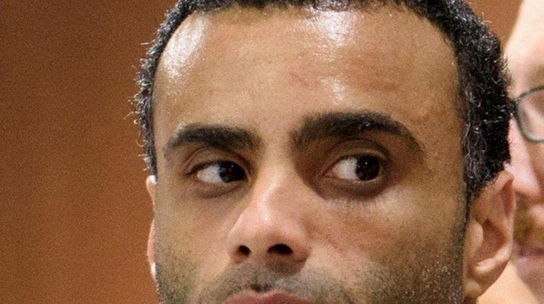 Oscar Morel is arraigned at Queens Criminal Court