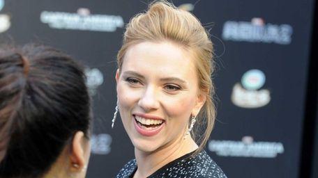 Scarlett Johansson, pictured in March 2014, will star