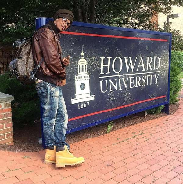 Nick Cannon is now attending Howard University.