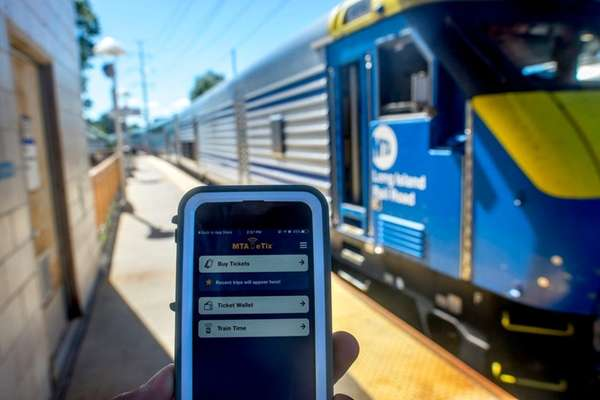 The Long Island Rail Road has rolled out