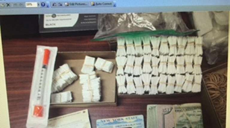 Northport Police said they discovered a stash of
