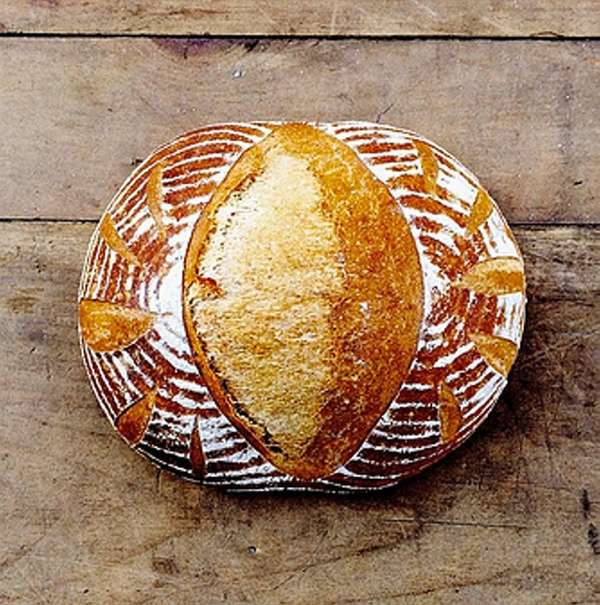 The sourdough loaf from Carissa's Breads in Amagansett