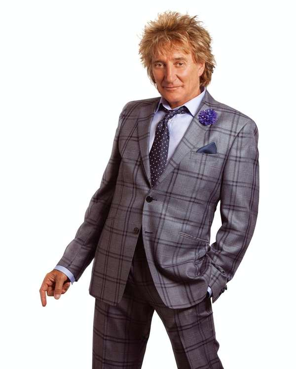 Rod Stewart performs in the Founder's Room Legends