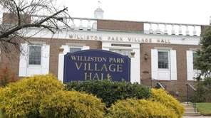 Williston Park Village Hall is seen on Thursday,