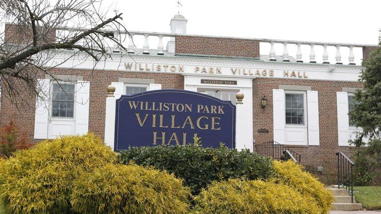 Williston Park Village Hall is seen on Thursday,