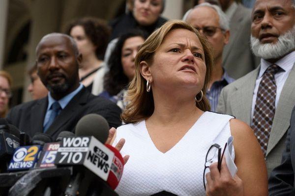 New York City Council Speaker Melissa Mark-Viverito speaks