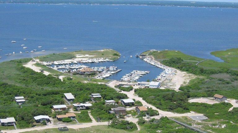 Watch Hill marina on Fire Island was damaged