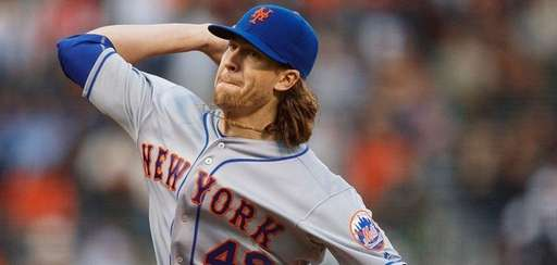 Jacob deGrom of the New York Mets