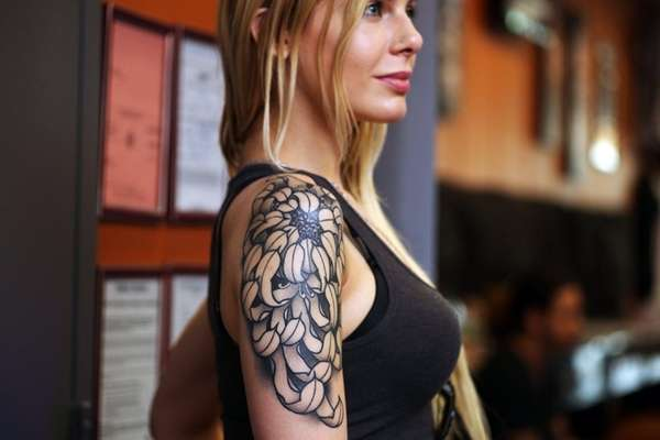 Kristina Ciccone, Holtsville, tattoo's are an example of