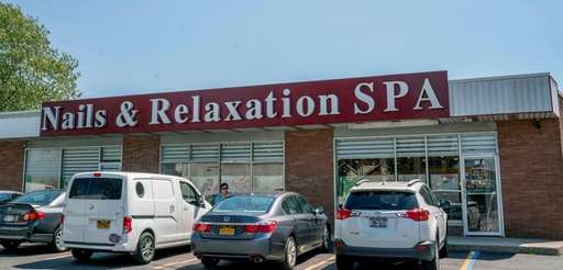 The Nails and Relaxation Spa in Copiague, seen