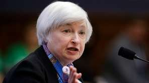Federal Reserve Chair Janet Yellen testifies on Capitol