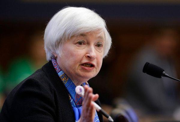 Federal Reserve Chair Janet Yellen, June 22, 2016.