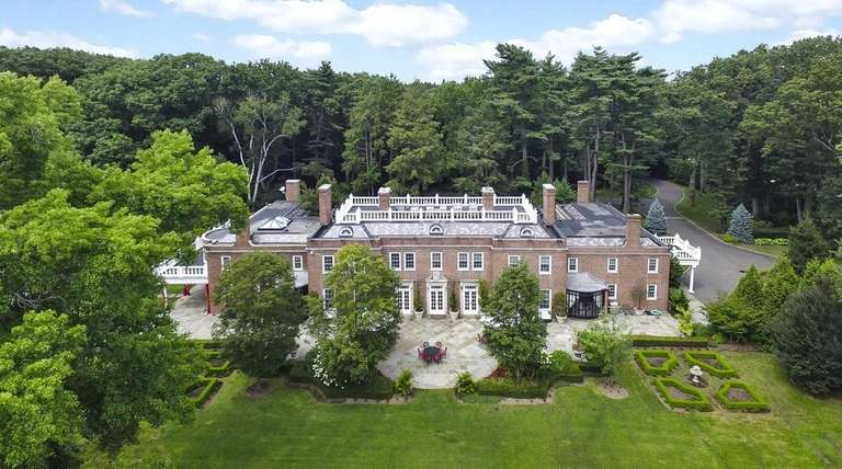 This Muttontown estate, listed for $14.5 million, was