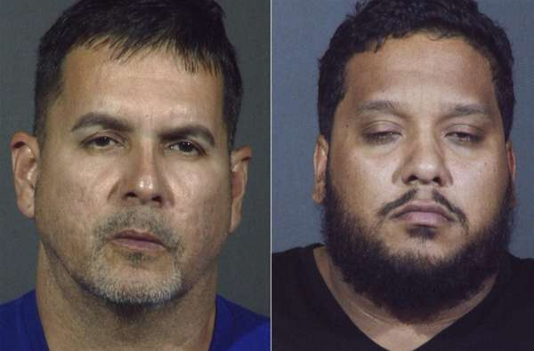 Fernando Quiles, left, 47, of Fort Worth, Texas,