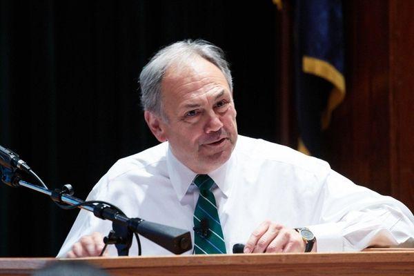 John S. Nader, the new president of Farmingdale