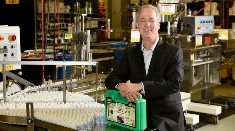 Jon Cooper, president of Westbury-based Spectronics Corp., hopes