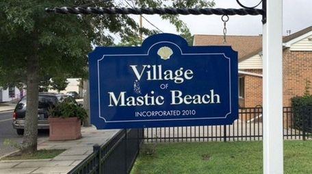 Mastic Beach Village Hall on Aug. 26, 2016.