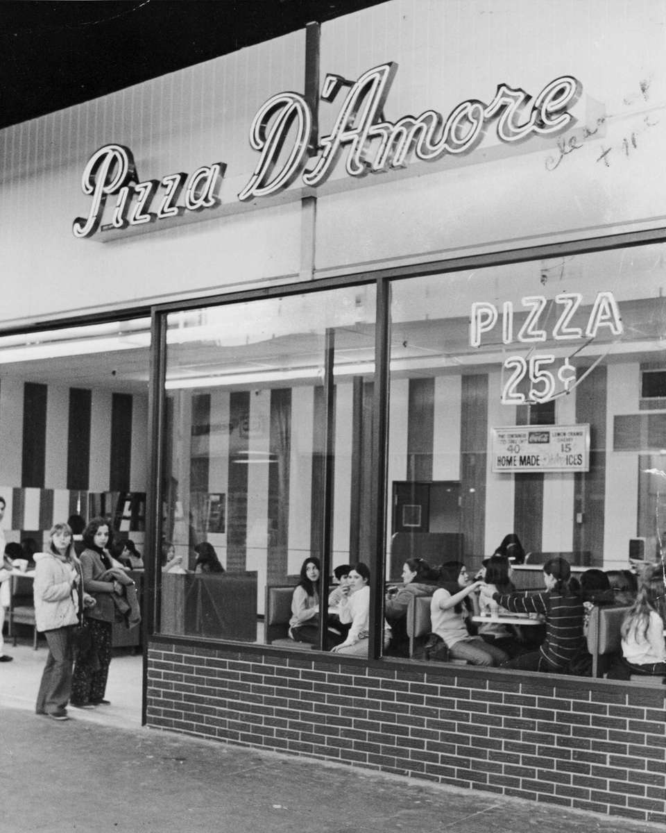 On March 13, 1971, pizza cost 25 cents