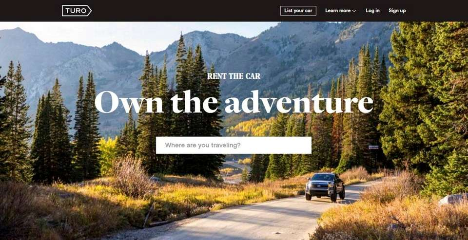 NAME turo.com WHAT IT DOES Drivers can rent