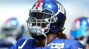 New York Giants defensive tackle Damon Harrison (98)