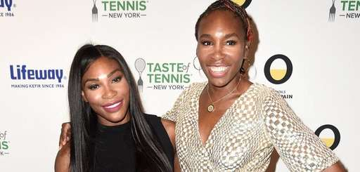 Serena Williams and Venus Williams attend Taste Of